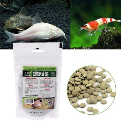 Aquarium Spirulina Algae Wafers Tablets Tropical Fish Delicious Food Feeding