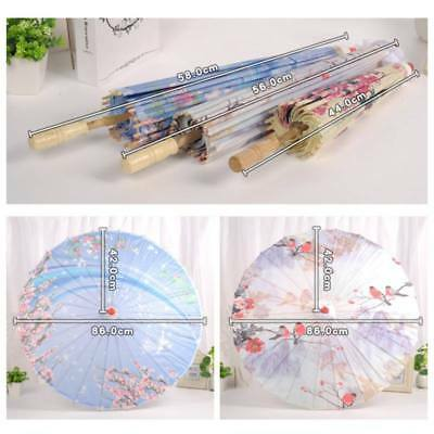 Chinese Oil Paper Umbrella Art Painted Parasol Wedding Party Umbrella Decor