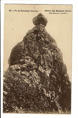 CPA - Carte postale  -Ile Maurice-Pic du Pieter Both Montain S4442