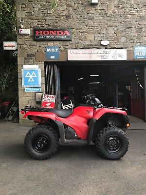 2016 Honda Fourtrax 420 (TRX420FM1) Agri Road Registered ATV Quad Bike