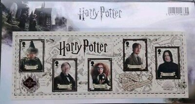 Harry Potter - Royal Mail Mint Stamps - Presentation Pack - 2018 Issueset of 15