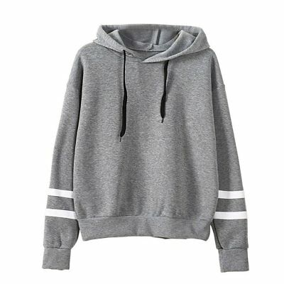 Autumn & Winter Loose Long Sleeves Hoodies For Women Warm Hooded Pullovers AZ