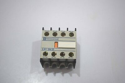 Telemecanique LA1 DN 22 Auxiliary Contact Block , 4NO
