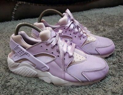 202e722415 Womens Girls Violet Lilac Nike Huarache trainers size 5.5 fit 5 or 4.5 ☆