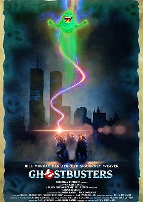 Ghostbusters 2 Movie Art Silk Poster 12x18 16x24 inch 012