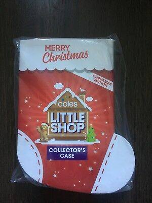 Coles Little Shop Christmas Edition FULL SET WITH FOLDER