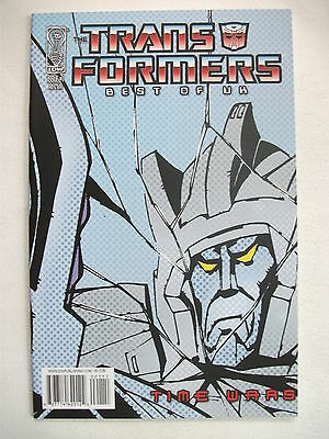 Transformers Best Of Uk: Time Wars # 1 (First Print, R1 Cover, Aug 2008), Nm/mt