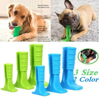 Pet Brushing Stick Teeth Cleaning Chew Toy Toothbrush For Dogs Pet Oralcare New