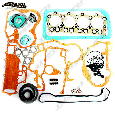 Mitsubishi 4D34 4D34T Engine Gasket Kit For Fuso Canter FE FG Trucks Rosa