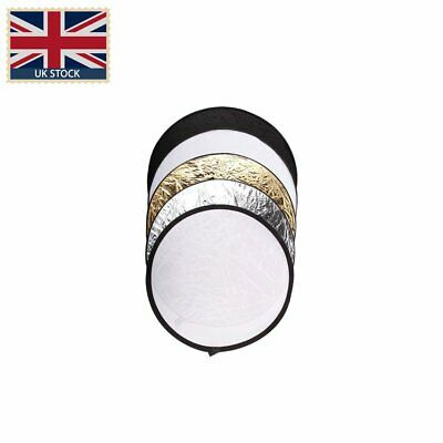 "110cm/43"" 5 in 1 Studio Lighting Diffuser Light Mulit Collapsible disc Reflector"