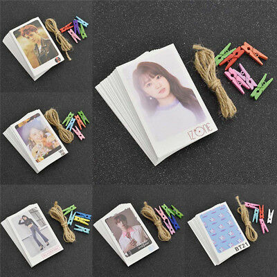 KPOP BTS Blackpink Album LOMO Carte de Photo TWICE NCT127 IZONG Photocard Cadeau