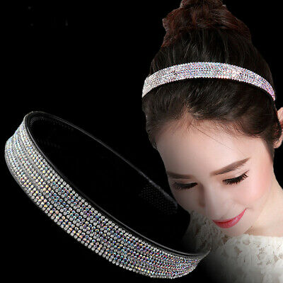 Fashion Women's Hair Accessories Crystal Rhinestone Headband Alice Band Hairband
