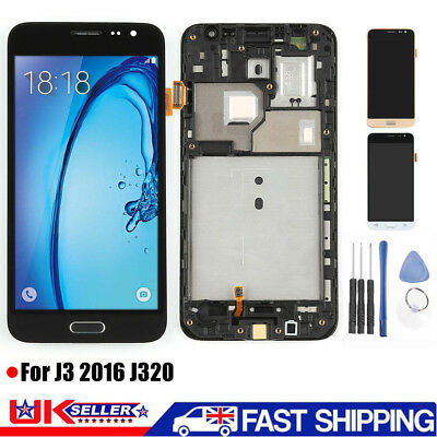 For Samsung Galaxy J3 2016 J320FN Replacement Touch Screen Digitizer LCD Display
