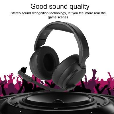 NUBWO N12D Wired Gaming Bass Earphone Headphone Over Ear Headset with Mic For PC