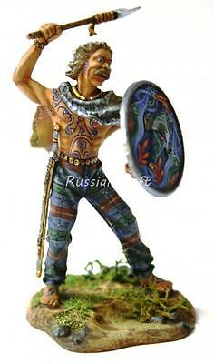 Tin Soldier, top quality, Celts, celtic Tribal chief, Barbarian, 54 mm