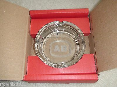 Personalized Glass Ashtray Initials Ab