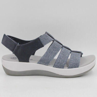 0a056cca02fb CLOUDSTEPPERS BY CLARKS Arla Shaylie Women Sport Sandals Size 8.5 M Navy