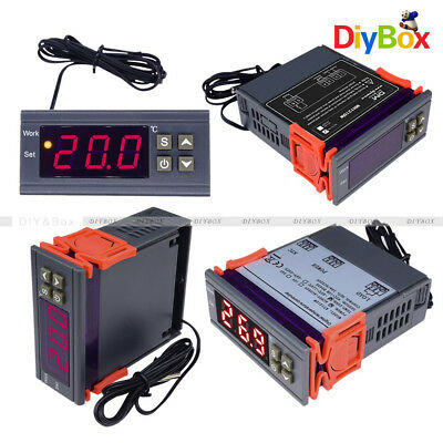 MH1210W DC 12~72V/AC 90-250V Digital Temperature Humidity  Controller Thermostat