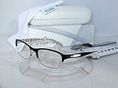2b313483f4 OAKLEY Eyeglasses Irreverent RX FRAME OX1062-0152 Black Peppermint 52mm READ