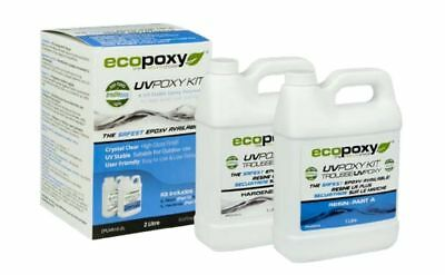 ECOPOXY UVPOXY 1 L KIT (Approximate US 1 Quart) New, Authorized Retailer