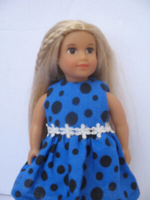 "Clothes for Mini American girl,Our Generation,Lori 6"",My Life 7"" Doll Dress"