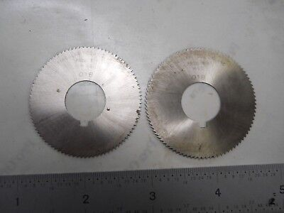 2 - NEW USA MADE CIRCULAR TOOL 1-3/4  x .018 x 5/8 HOLE SLOTTING SAWS