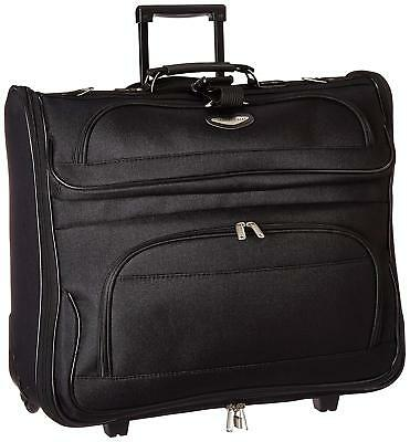 Folding Garment Bag Luggage Carry On Suitcase Travel Wheels Clothing Suits Dress