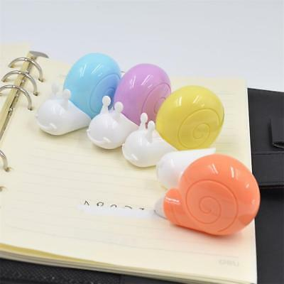 6m Snail Roller White Out School Office Stationery Correction Tape Geschenk,.SS