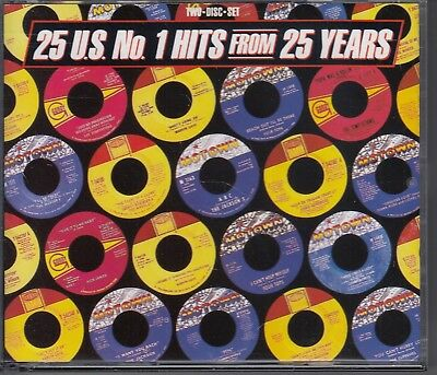 25 U.S. No. 1 HITS FROM 25 YEARS / 1985 MOTOWN / 2 CD BOX