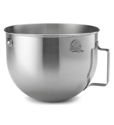 KitchenAid KN25PBH 5QT. Stainless Steel Polished Bowl with Strap Hand