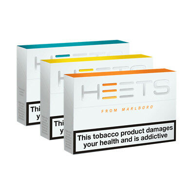 Heets-Amber,yellow,sienna,turquoise Label,10 Pack Carton-200 Heets Per Carton