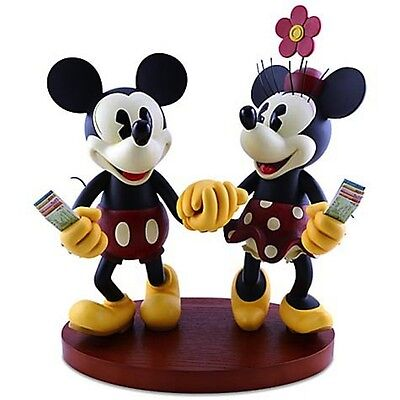 Mickey et Minnie PARIS 7 Disneyland Paris Figurine SET MK/&MN FIG