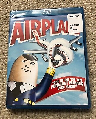 Airplane (Blu-ray Disc, 2013) Brand New, Factory Sealed  FREE SHIPPING