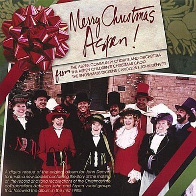 Aspen Dickens Carolers with...-Merry Christmas Aspen (US IMPORT) CD NEW