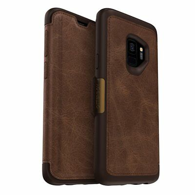 OtterBox STRADA SERIES Leather Wallet Case for Samsung Galaxy S9