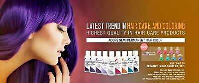 Adore Semi Permanent Hair Dye Color 118mL ***AUTHENTIC & FREE SHIPPING
