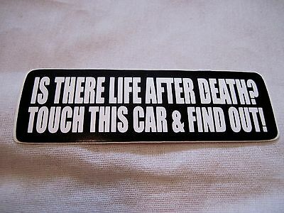 Touch This Car And Find Out  Classic,hot Rod,racing,rat Rod Sticker, Decal