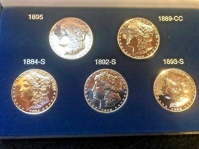 American Coin Treasurers Million Dollar Morgan Collection Tribute Proof Set