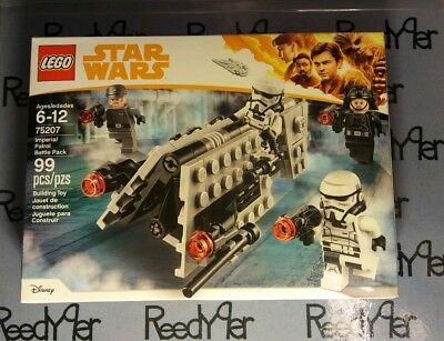 LEGO Star Wars Imperial Patrol Battle Pack 75207 Solo Movie Storm Troopers Army