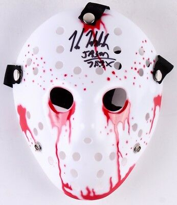 Kane Hodder signed replica Jason Voorhees Friday The 13th prop. Legends COA