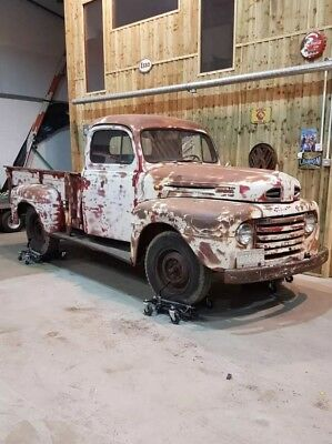 1950 Ford Flathead V8 Manual Stepside Truck with Cool Patina