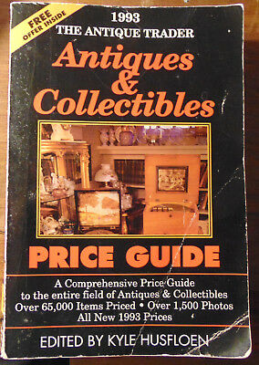 The Antique Trader Antiques and Collectibles Price Guide by Husfloen (1992, PB)