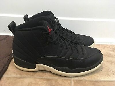 buy online 63714 1f09f Nike Air Jordan Retro XII 12 Neoprene Black Nylon sz 10.5