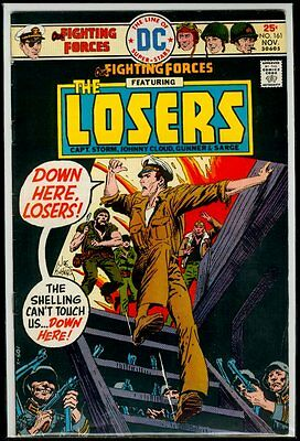 DC Comics OUR FIGHTING FORCES #161 The LOSERS FN 6.0