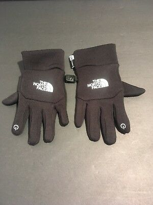 The North Face U/R Powered ETIP Gloves Youth/Junior EXCELLENT CONDITION Size S/P