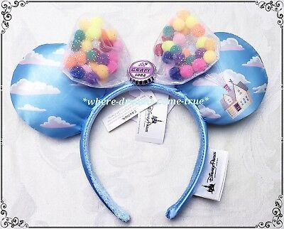 Disney Parks Exclusive from movie UP Minnie Mouse Ears Headband Grape Soda (New)