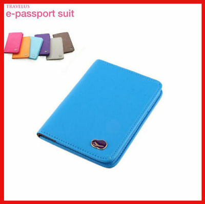 RFID Blocking Passport Cover Case Suit Holder Organizer Protector