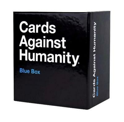 Cards Against Humanity UK Expansion Blue Box 300 New Cards Brand New Sealed