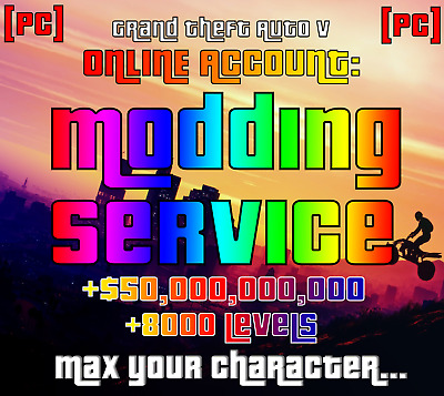 PC] GTA 5 Online Recovery Service | $15B | 8000RP | MAX
