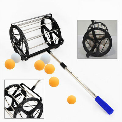 Tennis Ball Collector Ball Tube Substitute Ball Picker Hopper Retriever TOP